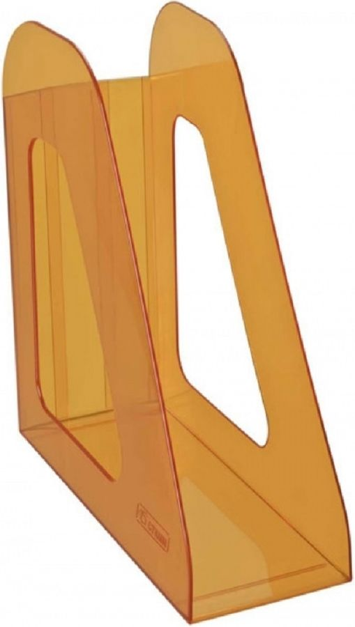Лоток вертикальный Стамм ЛТ716 Фаворит 233x90x240мм оранжевый/тонированный пластик