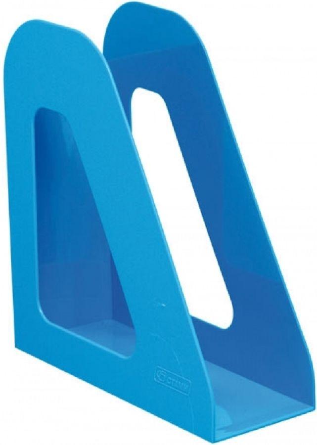 Лоток вертикальный Стамм ЛТ722 Фаворит 233x90x240мм голубой пластик
