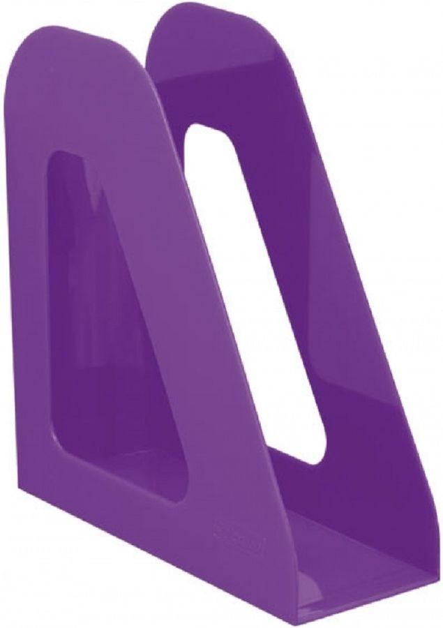 Лоток вертикальный Стамм ЛТ723 Фаворит 233x90x240мм фиолетовый пластик