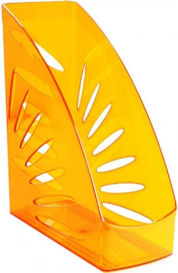Лоток вертикальный Стамм ЛТ360 Тропик 263x245x110мм оранжевый пластик
