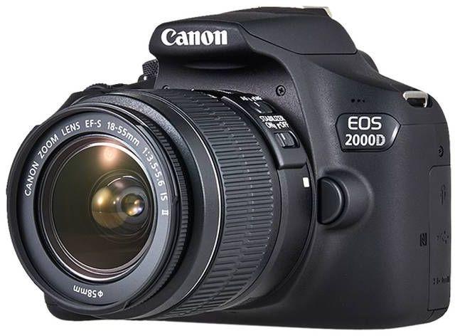 7984cd9025e Купить Зеркальный фотоаппарат CANON EOS 2000D KIT kit ( 18-55mm f ...