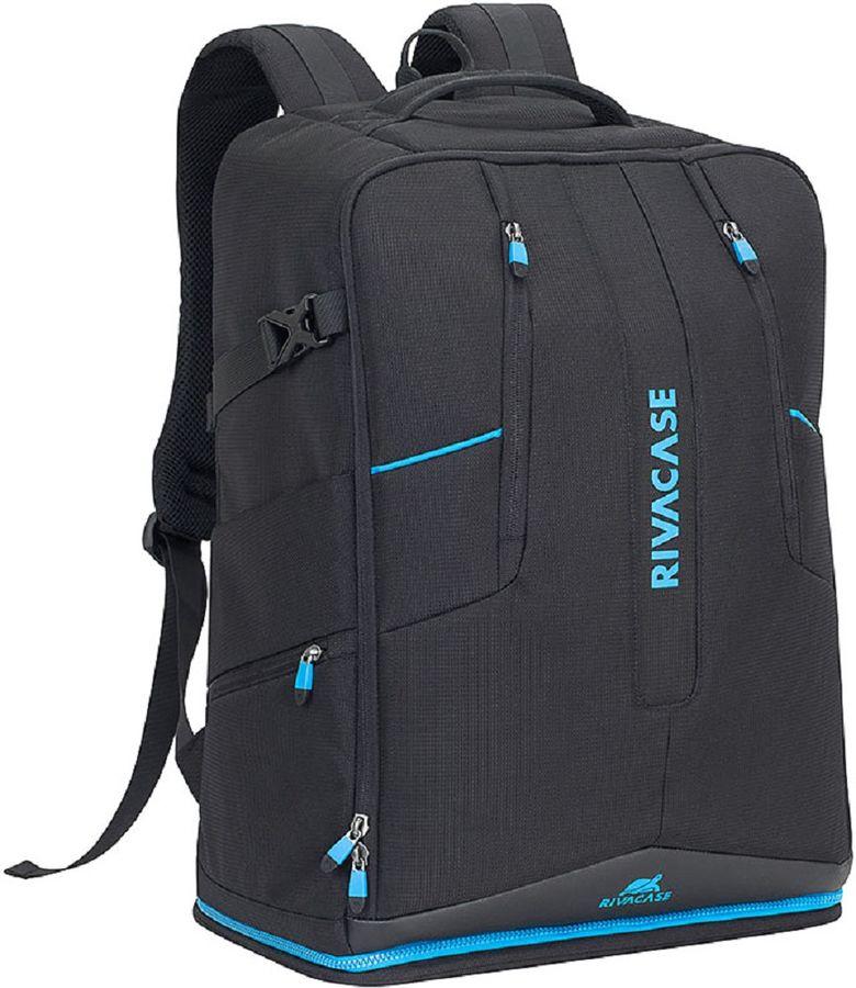"""Рюкзак 16"""" RIVA 7890, черный"""