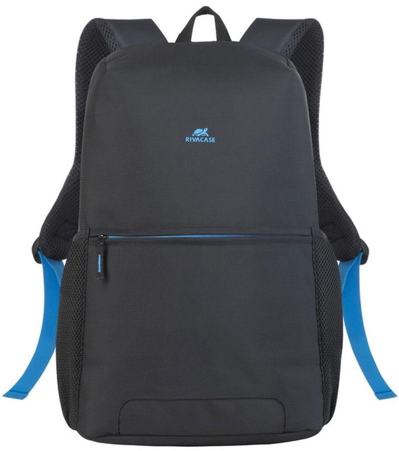 """Рюкзак 15.6"""" RIVA 8067, черный"""