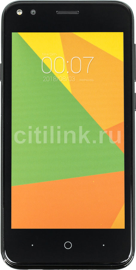Смартфон MICROMAX BOLT Ultra 1 8Gb, Q437, черный смартфон micromax q346 lite grey 4 5 854x480 fm радио bluetooth wi fi 3g android 5 1 1700 ма ч