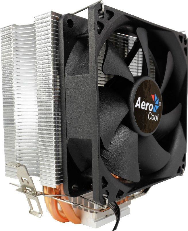Устройство охлаждения(кулер) AEROCOOL Verkho 3,  90мм, Ret