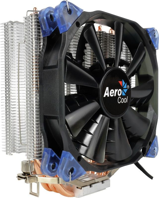 Устройство охлаждения(кулер) AEROCOOL Verkho 4,  120мм, Ret