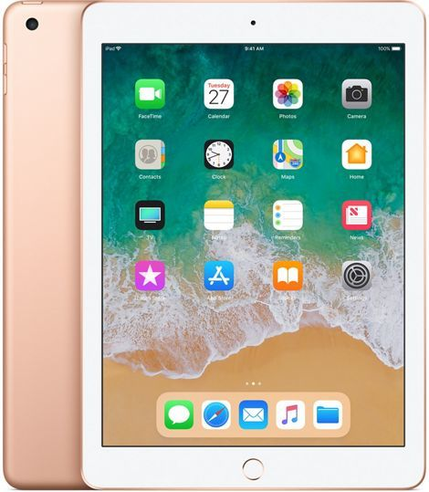 Планшет APPLE iPad 2018 32Gb Wi-Fi MRJN2RU/A,  2GB, 32GB, iOS золотистый