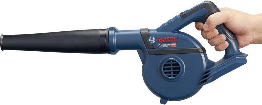 Воздуходувка BOSCH GBL 18V-120, без АКБ,  без ЗУ,  синий [06019f5100]