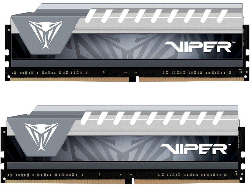 Модуль памяти PATRIOT Viper 4 PVE48G266C6KGY DDR4 -  2x 4Гб 2666, DIMM,  Ret