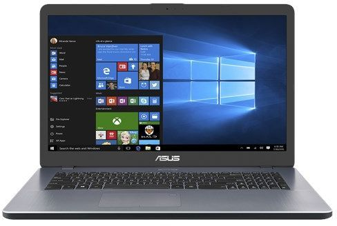 Ноутбук ASUS X705UA-BX404T, 17.3, Intel Core i3 7100U 2.4ГГц, 6Гб, 500Гб, Intel HD Graphics 620, Windows 10, 90NB0EV1-M04910, серыйНоутбуки<br>экран: 17.3;  разрешение экрана: 1600х900; процессор: Intel Core i3 7100U; частота: 2.4 ГГц; память: 6144 Мб, DDR4; HDD: 500 Гб, 5400 об/мин; Intel HD Graphics 620; WiFi;  Bluetooth; HDMI; WEB-камера; Windows 10<br>