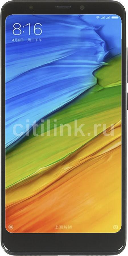 Смартфон XIAOMI Redmi 5 16Gb,  черный
