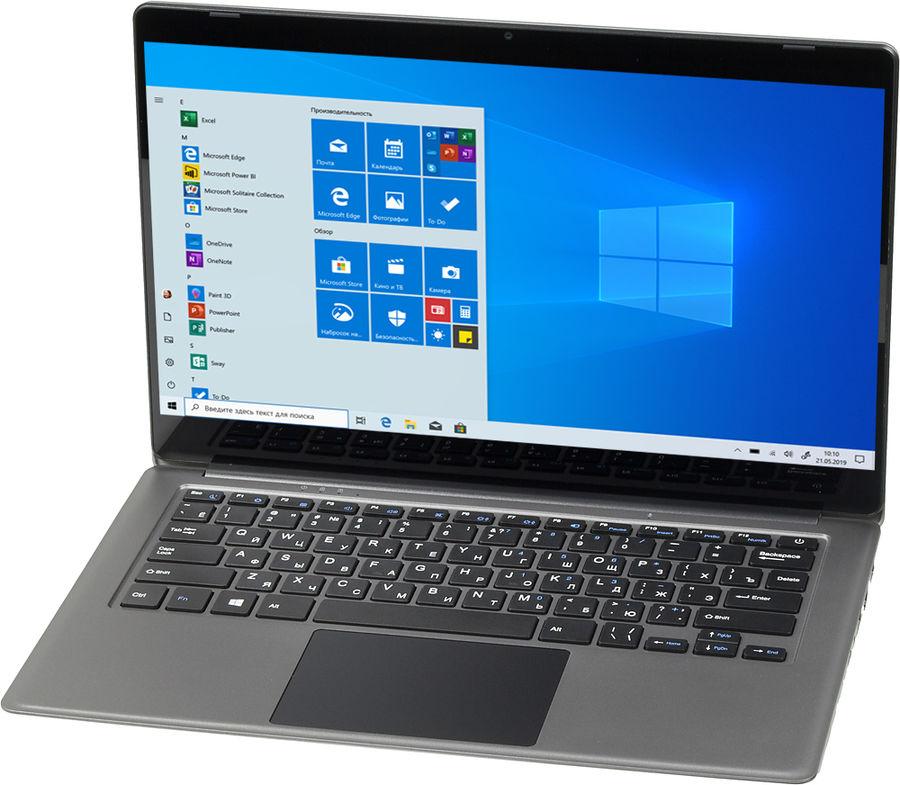 "Ноутбук DIGMA CITI E404 PRO, 14.1"",  IPS, Intel  Celeron  N3350 1.1ГГц, 4Гб, 32Гб SSD,  Intel HD Graphics  500, Windows 10 Professional, ES4024EW,  серебристый"