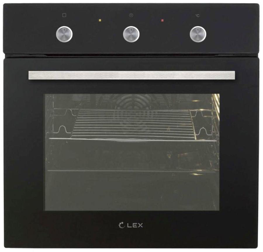 Духовой шкаф LEX EDP 070 BL,  черный