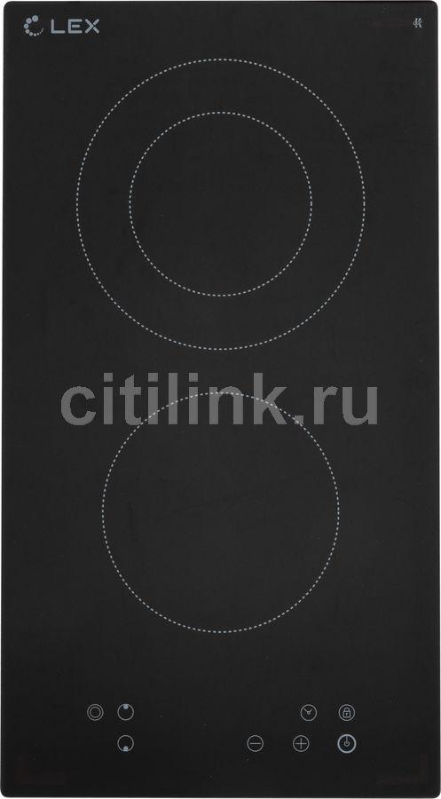 Варочная панель LEX EVH 321 BL,  Hi-Light,  независимая,  черный
