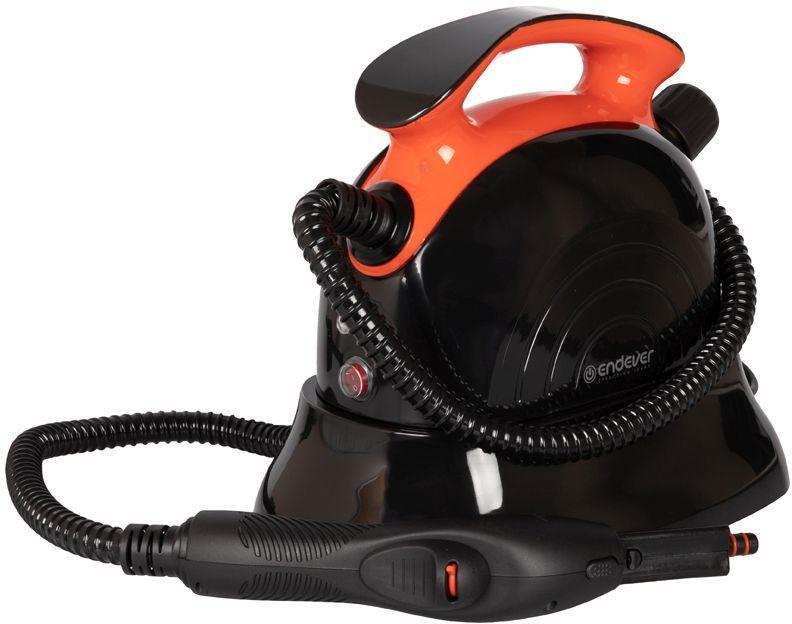 Пароочиститель ENDEVER Q-804,  черный/оранжевый [80363]