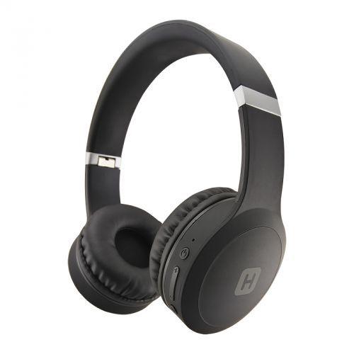 Наушники с микрофоном HARPER HB-409, 3.5 мм/Bluetooth, накладные, черный
