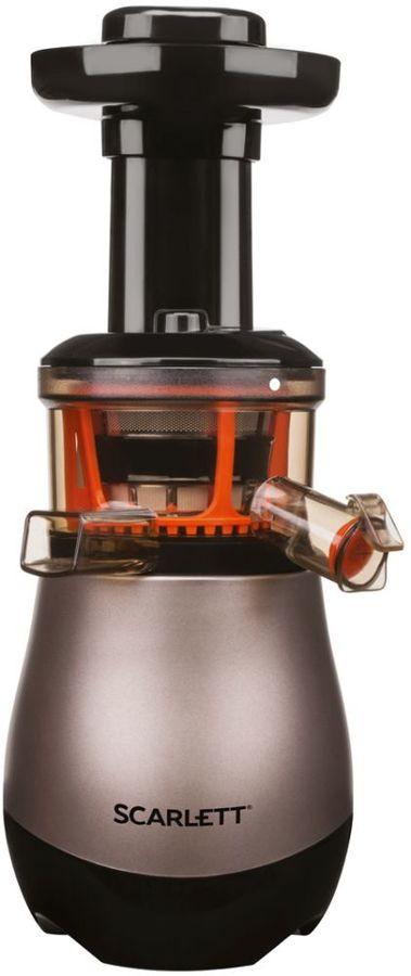 Соковыжималка SCARLETT SC-JE50S43,  центробежная,  коричневый [sc - je50s43]