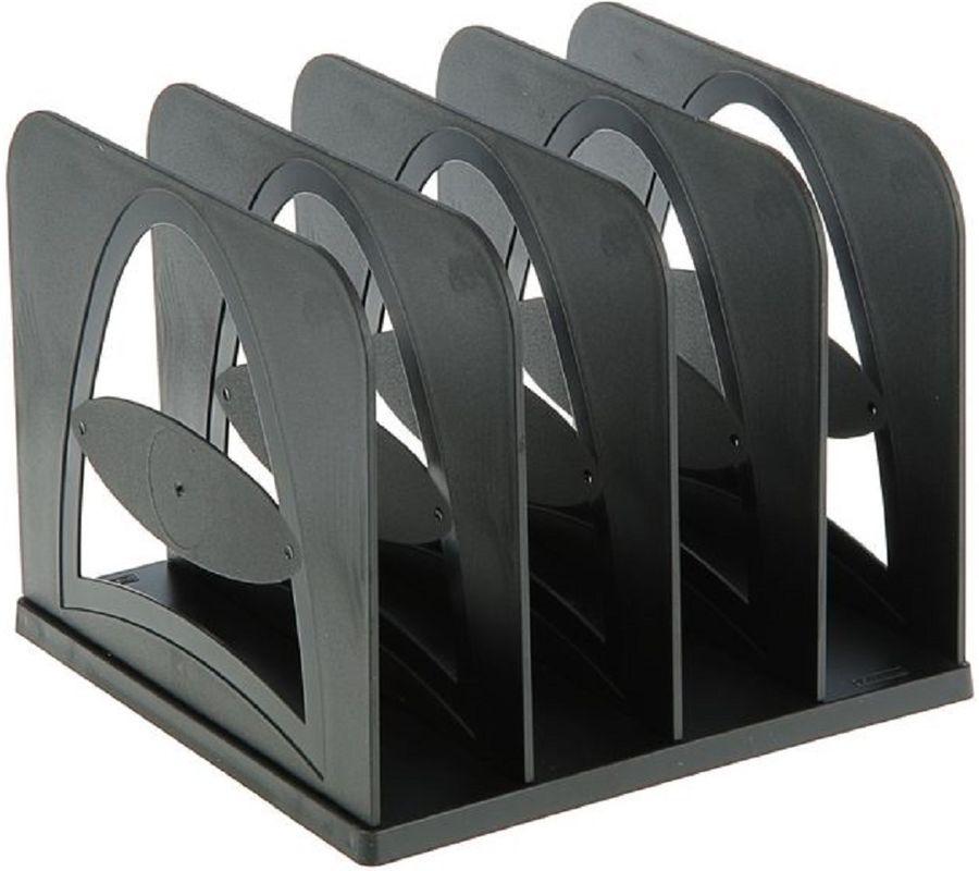 Контейнер для документов Стамм СО02 210x210x170мм черный пластик