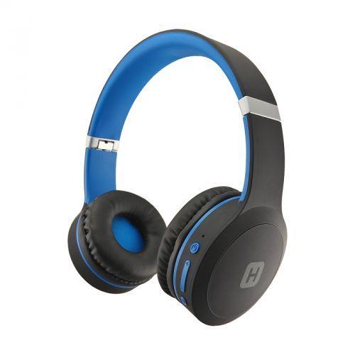 Наушники с микрофоном HARPER HB-409, 3.5 мм/Bluetooth, накладные, синий