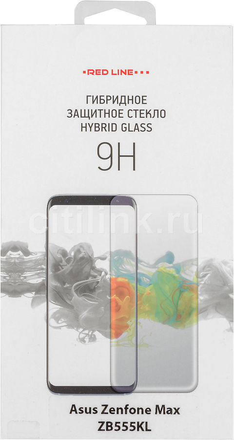 Защитная пленка для экрана REDLINE для Asus ZenFone Max M1 ZB555KL,  прозрачная, 1 шт [ут000014469]