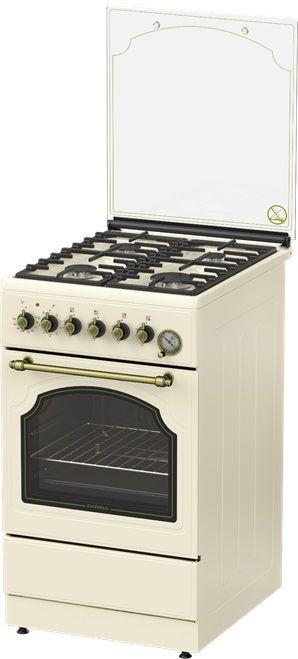 Газовая плита DARINA 1F8 2312 Bg,  электрическая духовка,  бежевый