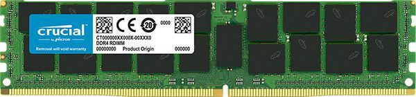 Память DDR4 Crucial CT32G4LFD4266 32Gb DIMM ECC Reg PC4-21300 CL19 2666MHz
