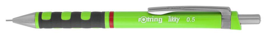 Карандаш механический Rotring Tikky 2007217 0.5мм зеленый/неон