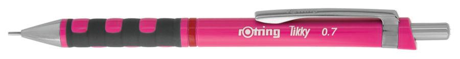 Карандаш механический Rotring Tikky 2007218 0.7мм розовый/неон