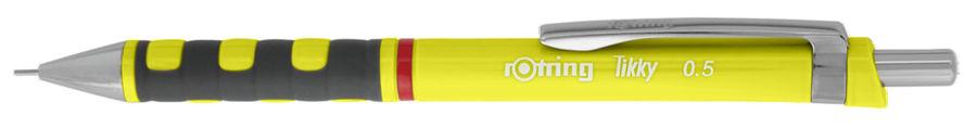 Карандаш механический Rotring Tikky 2007251 0.5мм желтый/неон