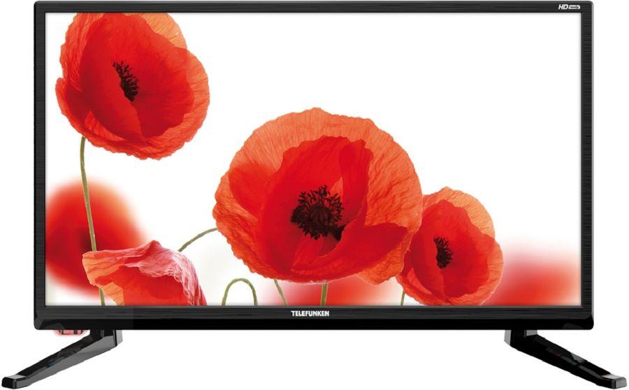 """LED телевизор TELEFUNKEN TF-LED19S43T2  """"R"""", 18.5"""", HD READY (720p),  черный"""