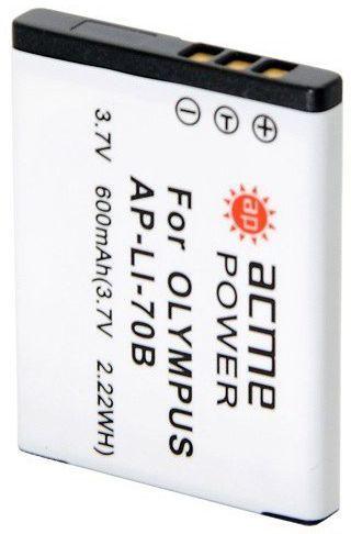 Аккумулятор ACMEPOWER AP-LI-70B, 3.7В,  500мAч,  для компактных камер и видеокамер