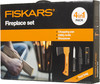 Топор Fiskars Х5 средний черный/оранжевый (в компл.:нож) (1025441) вид 15