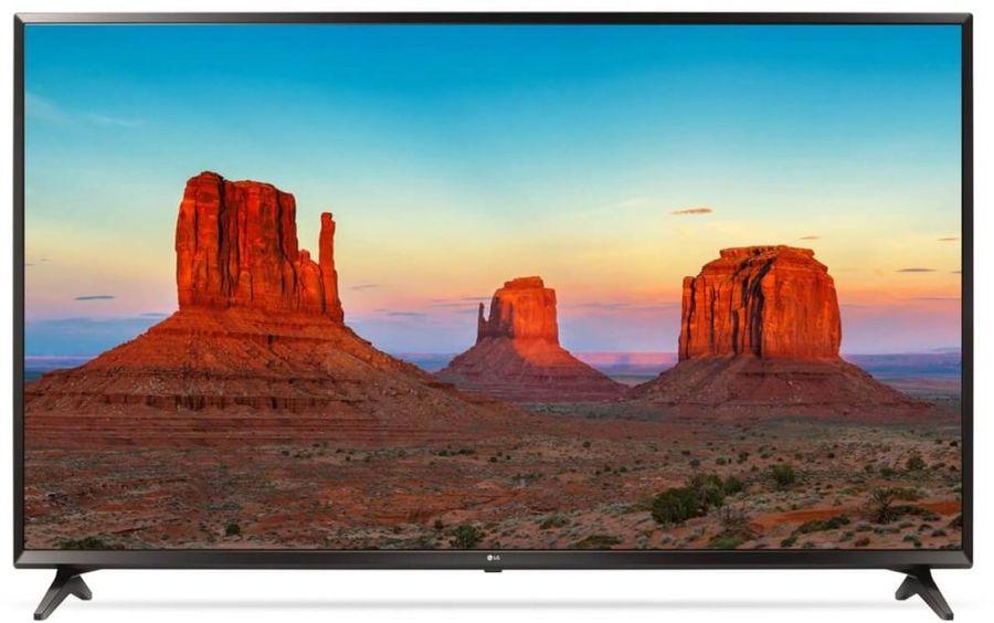"""LED телевизор LG 55UK6100  """"R"""", 55"""", Ultra HD 4K (2160p),  черный"""