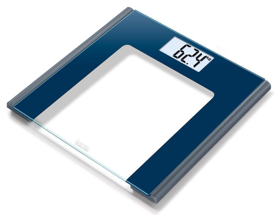 Напольные весы BEURER GS170, до 150кг, цвет: черный [756.16]