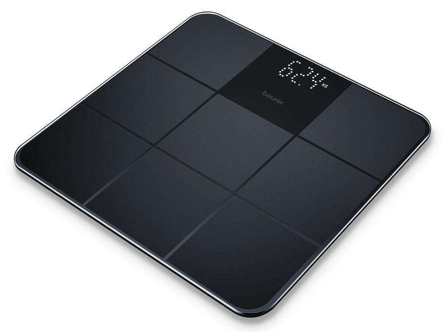 Напольные весы BEURER GS235, до 180кг, цвет: черный [757.32]