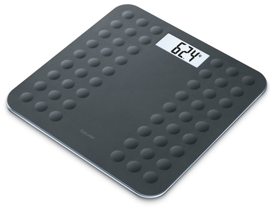 Напольные весы BEURER GS300, до 180кг, цвет: черный [756.08]