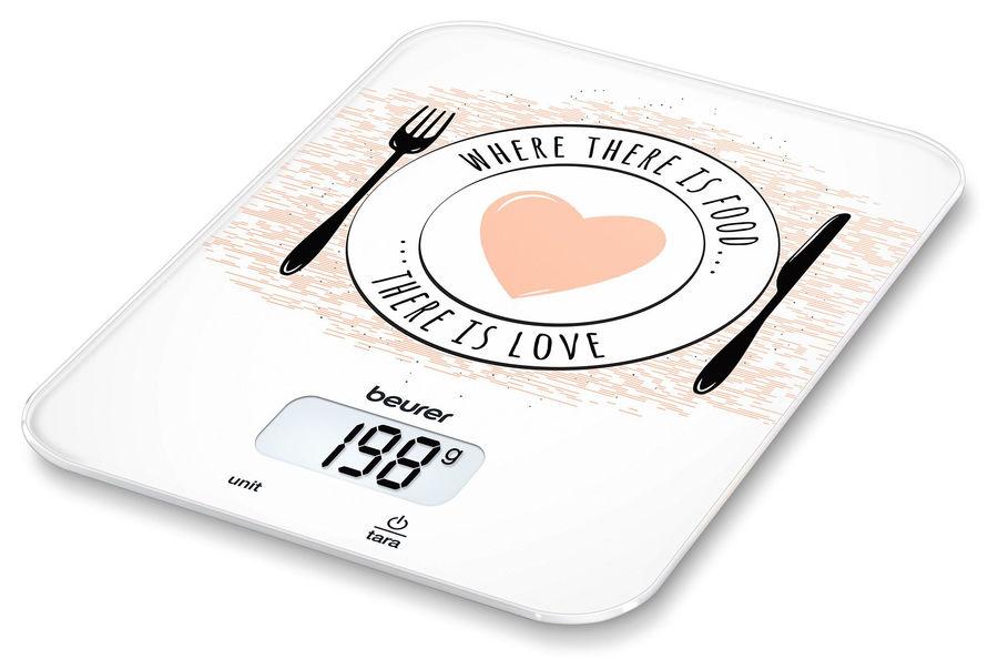 Весы кухонные BEURER KS19 Love,  рисунок