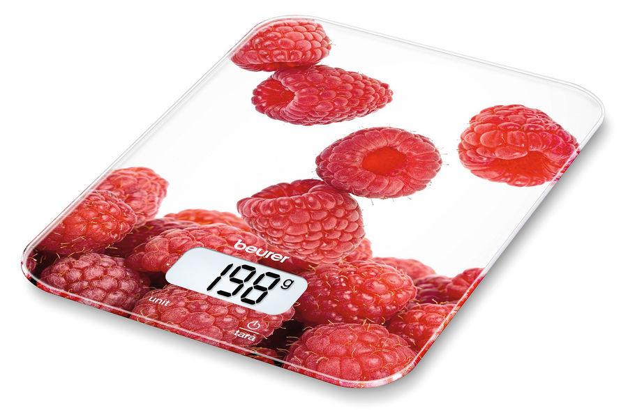 Весы кухонные BEURER KS19 berry,  рисунок
