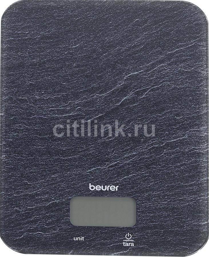 Весы кухонные BEURER KS19 slate,  рисунок