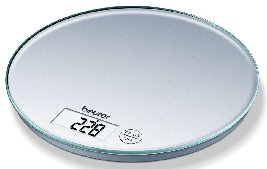 Весы кухонные BEURER KS28,  серебристый