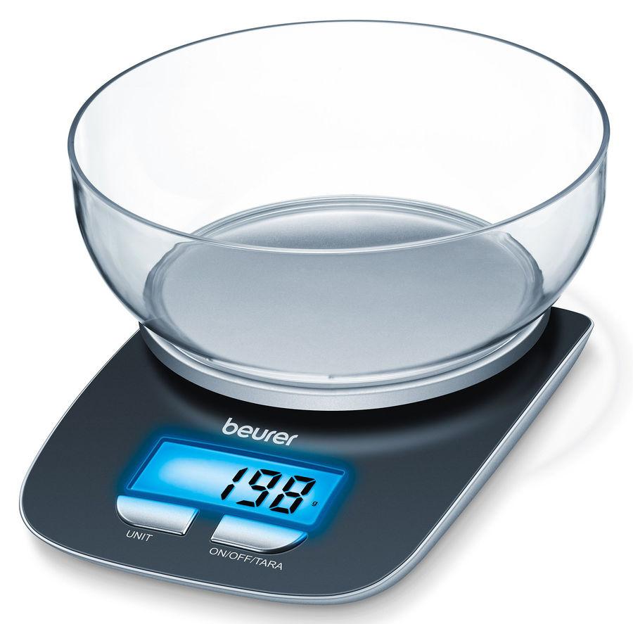 Весы кухонные BEURER KS25,  черный