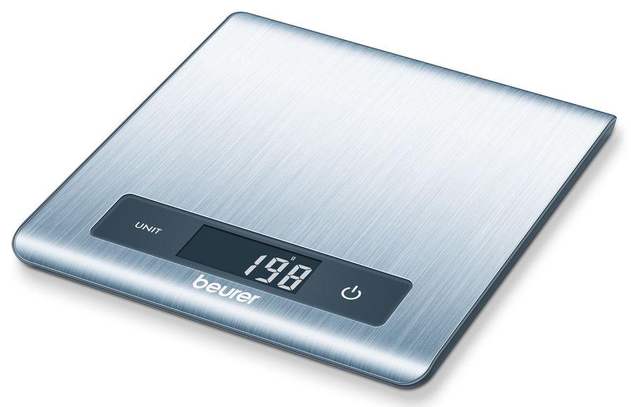 Весы кухонные BEURER KS51,  серебристый