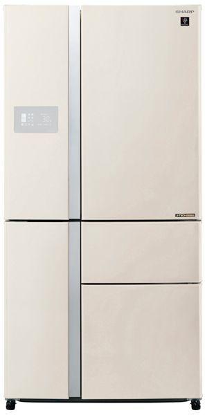 Холодильник SHARP SJ-PX99FBE,  пятикамерный, бежевый