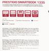 "Ноутбук PRESTIGIO SmartBook 133S, 13.3"",  IPS, Intel  Celeron  N3350 1.1ГГц, 3Гб, 32Гб eMMC,  Intel HD Graphics  500, Windows 10 Home, PSB133S01ZFH_BB_CIS,  темно-синий вид 18"