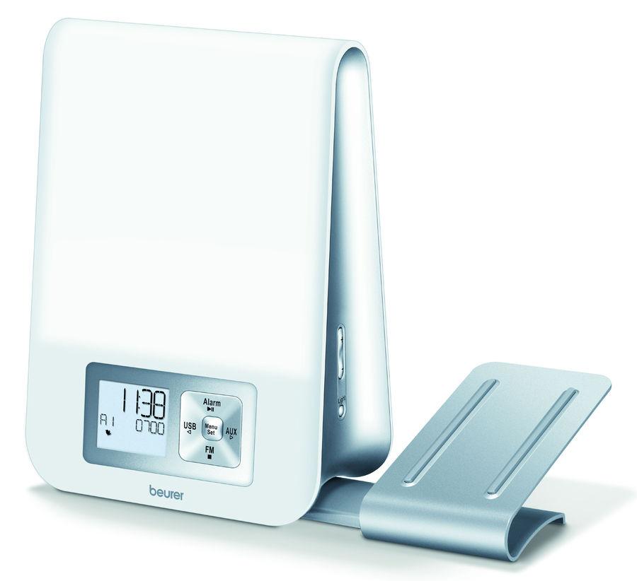 Будильник BEURER WL80, цифровые,  белый