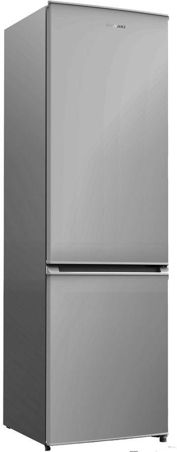 Холодильник SHIVAKI BMR-1803NFS,  двухкамерный, нержавеющая сталь