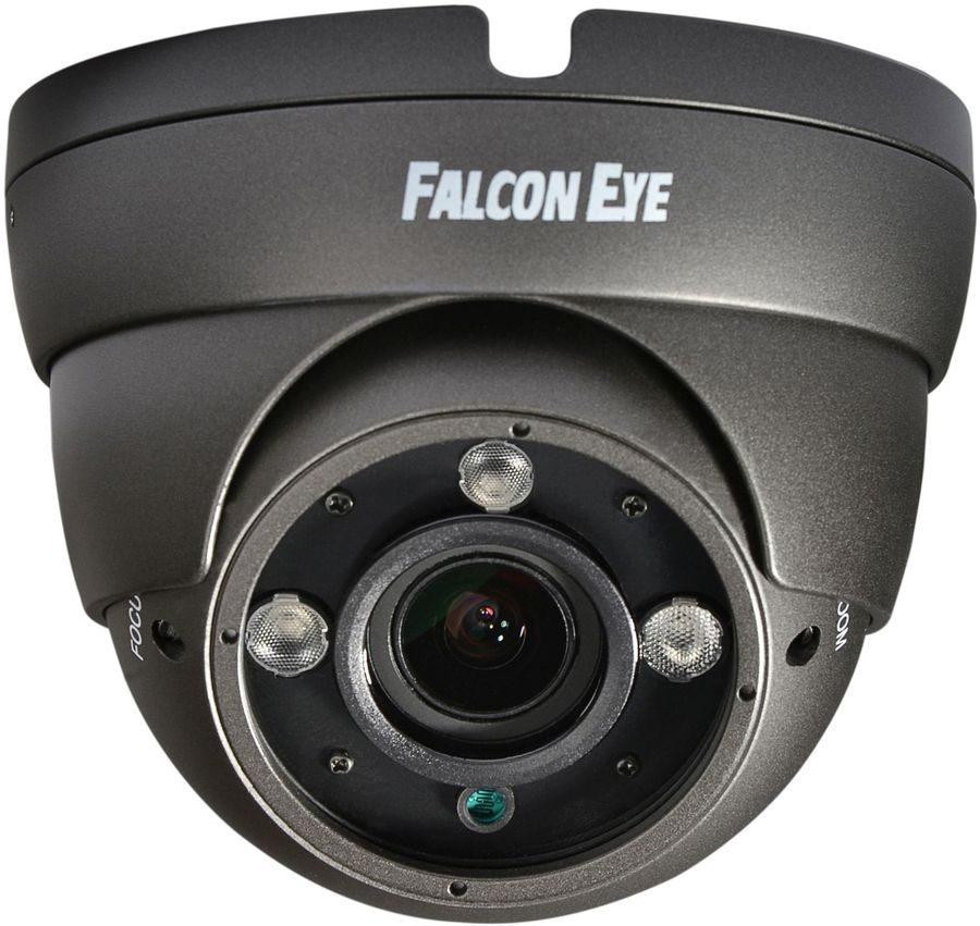 Камера видеонаблюдения FALCON EYE FE-IDV1080MHD/35M Starlig,  1080p,  2.8 - 12 мм,  черный