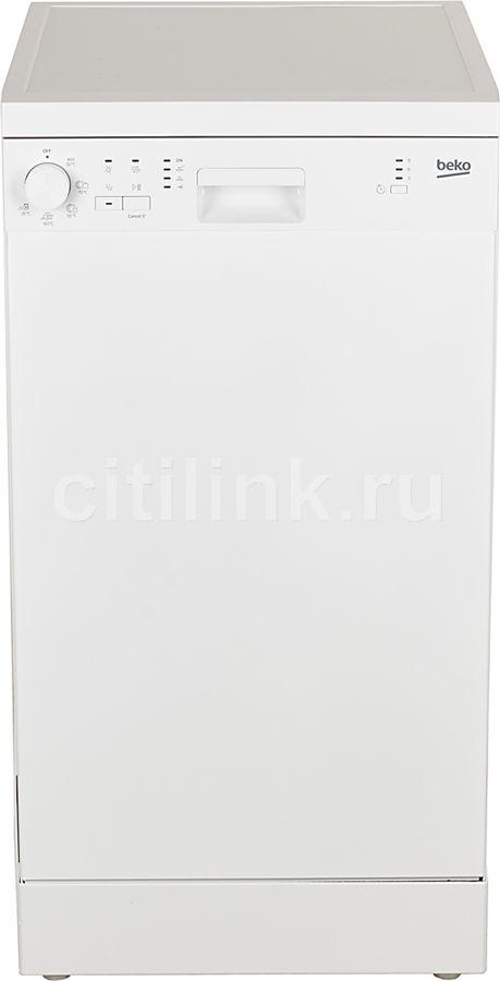 Посудомоечная машина BEKO DFS05012W,  узкая, белая
