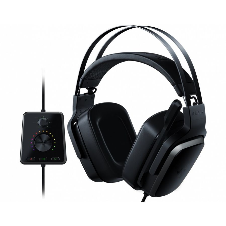 Наушники с микрофоном RAZER Tiamat 7.1 V2,  мониторы, черный  [rz04-02070100-r3m1]