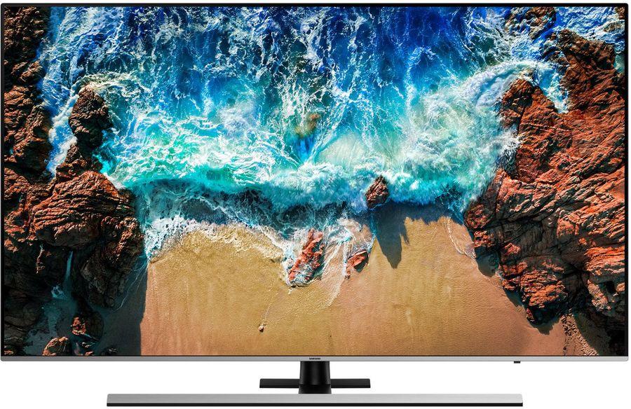 "LED телевизор SAMSUNG UE49NU8000UXRU  ""R"", 49"", Ultra HD 4K (2160p),  серебристый"